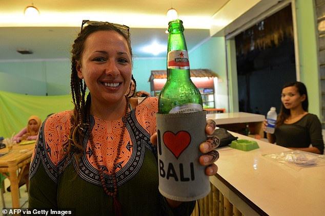 More than a million Australians travel to Indonesia each year and make up more than a quarter of Bali tourists - and they all love to drink