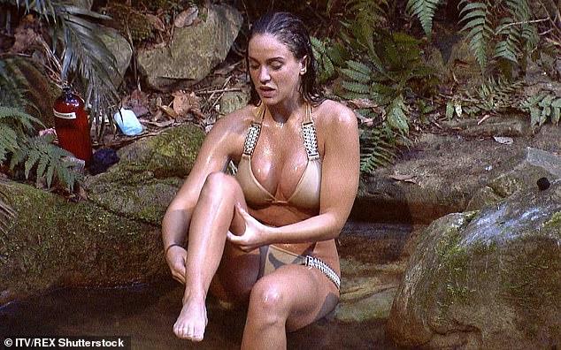 2015 Queen of The Jungle Vicky Pattison would recreate jungle shower bikini scenes in North Wales