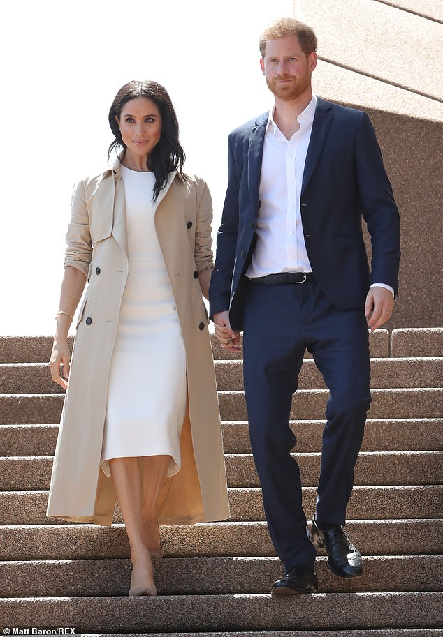 We all recall the excitement of that May 2018 Windsor marriage that created such a whirlwind of attention around Harry and Meghan (picturedduring their tour Australia, 16 October, 2018)