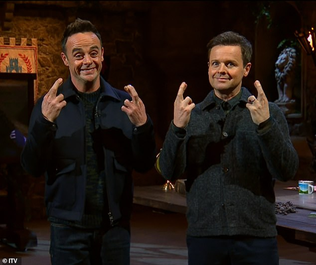 New look: Ant and Dec have returned to the show for the 20th season