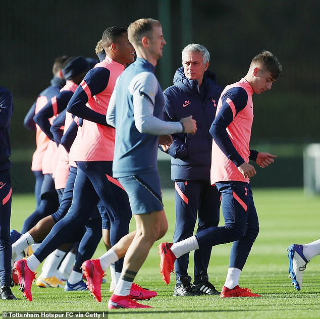 Tottenham boss has only six players left in training due to international spell