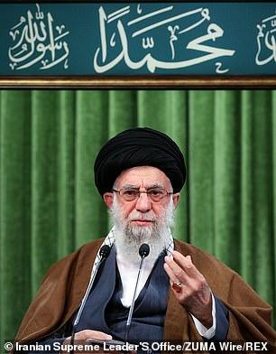 Iran's supreme leaderAyatollah Khamenei, 81