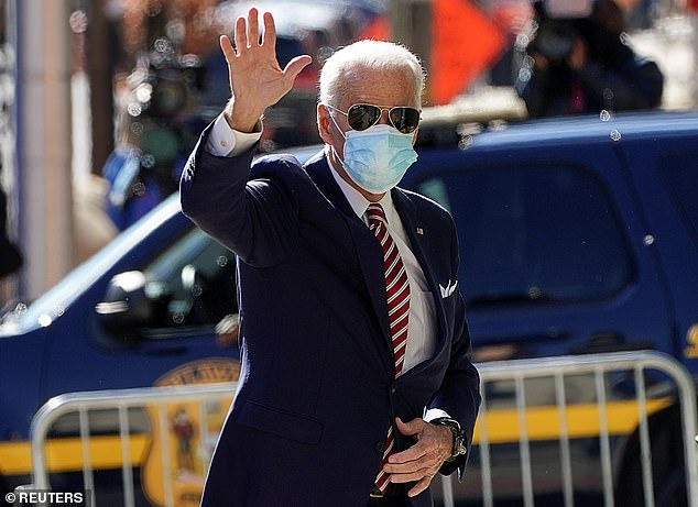 Joe Biden will present his economic plan during a speech in Wilmington on Monday