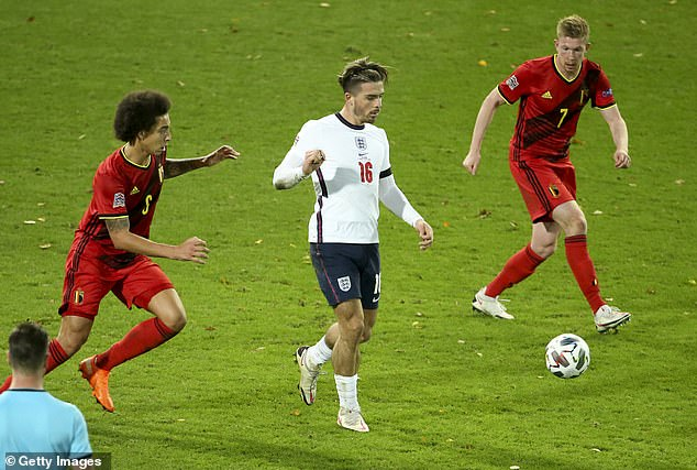 Grealish was England's star player against Belgium and his skills come from Gaelic football