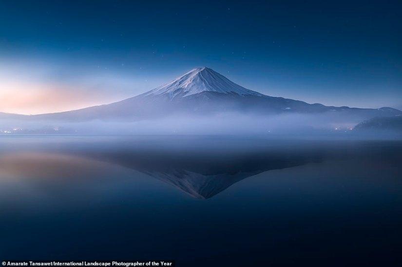 Amarate Tansawet made the top 101 thanks to this shot of Japan's Mount Fuji taken from Lake Kawaguchi