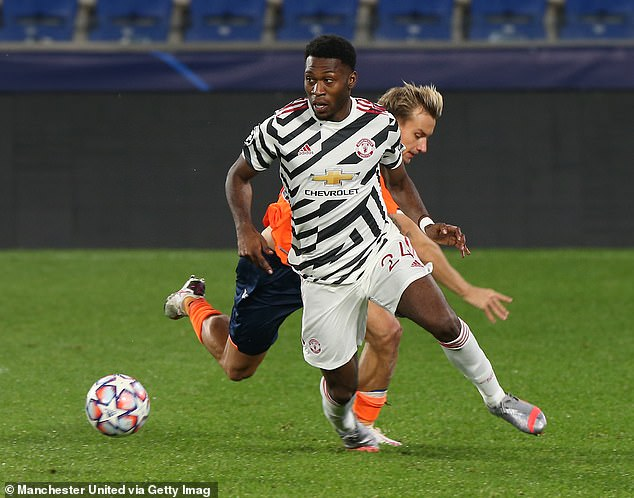 Defender Timothy Fosu-Mensah has the highest win percentage of any Man United player