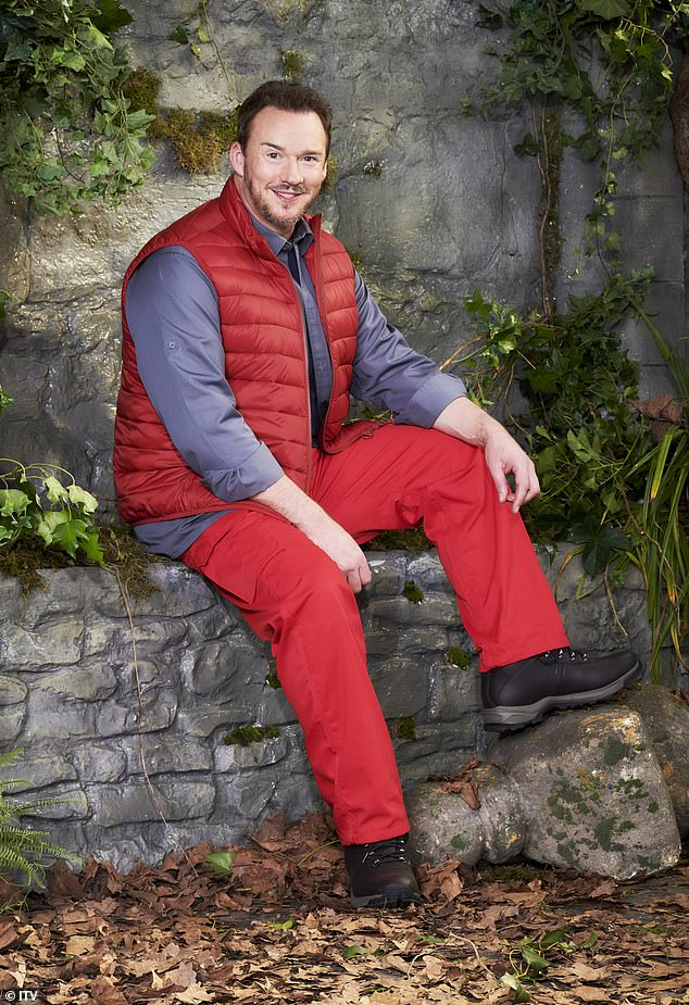 New boy: Russell Watson will see at least one familiar face when he is sent into the I'm A Celebrity... Get Me Out Of Here! castle this week