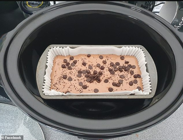 Alan Hogg, from Leeds, who also revealed pictures of his delicious bake, said he put his slow cooker on high for two and half hours to make the cake.