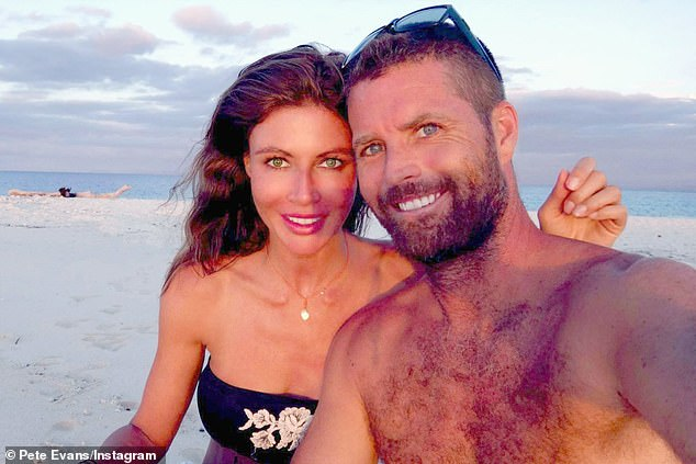 Radio silence: Pete Evans' wife,Nicola Robinson, has yet to support him publicly after his career fell apart spectacularly in less than 48 hours amid his neo-Nazi meme controversy