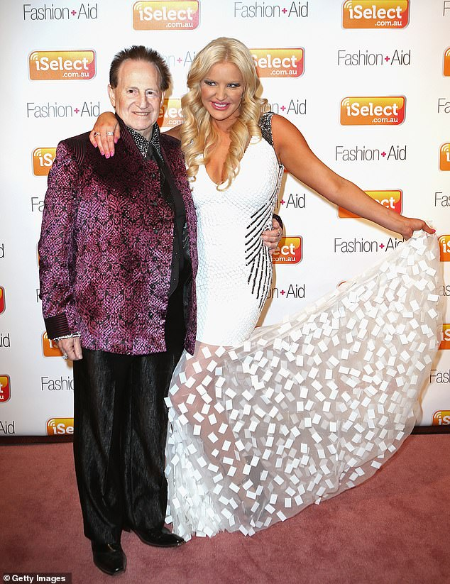 'I don't even think of it as Geoffrey's surname anymore':Brynne chose not to go back to her maiden name, Gordon, because she'd used Edelsten for many years and identified with it. Picturedon September 15, 2012, in Melbourne
