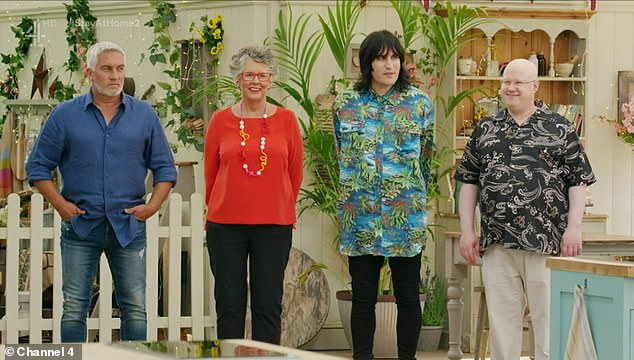 Almost over:The grand final of the Great British Bake Off airs Tuesday at 8pm on Channel 4