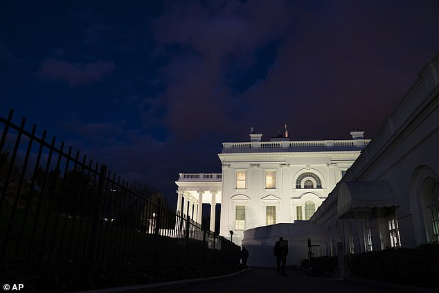 President Donald Trump and first lady Melania Trump will spend Thanksgiving at the White House, the first lady's spokeswoman tweeted. The president has largely stayed out of sight since the election was called for his rival, President-elect Joe Biden