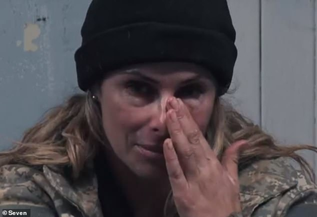 Home: Candice admitted: 'I don't know [why they sent me home] and when I watch it back, it still doesn't make a lot of sense but it's their course and I have to respect their decision'