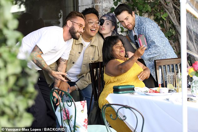 Welcome to LA:Osbourne enjoyed a laughter-filled hangout with Little Women: Atlanta star Shirlene Pearson, who is currently on vacation in Los Angeles, and their mutual pals