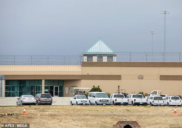New digs: The former Full House star is serving her time at Federal Correctional Institution, Dublin in northern California after arriving there on October 30