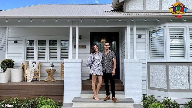 Who do you think is going to win The Block 2020? Property expert Frank Valentic believes Luke and Jasmin's (pictured) Federation-style abode at 360B New Street in Brighton, Victoria, could be the frontrunner as 'there's a really good style about it'