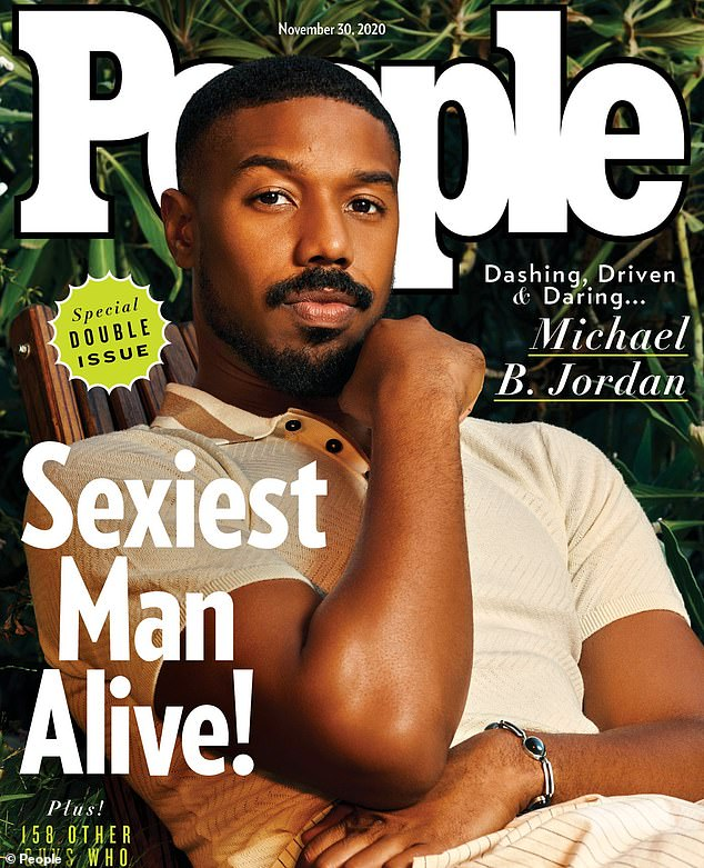 Michael B. Jordan revealed as People's Sexiest Man Alive 2020 | Daily Mail Online