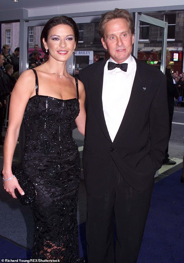Congratulations!Michael and Catherine celebrated their 20th wedding anniversary last Wednesday (pictured in the '90s)