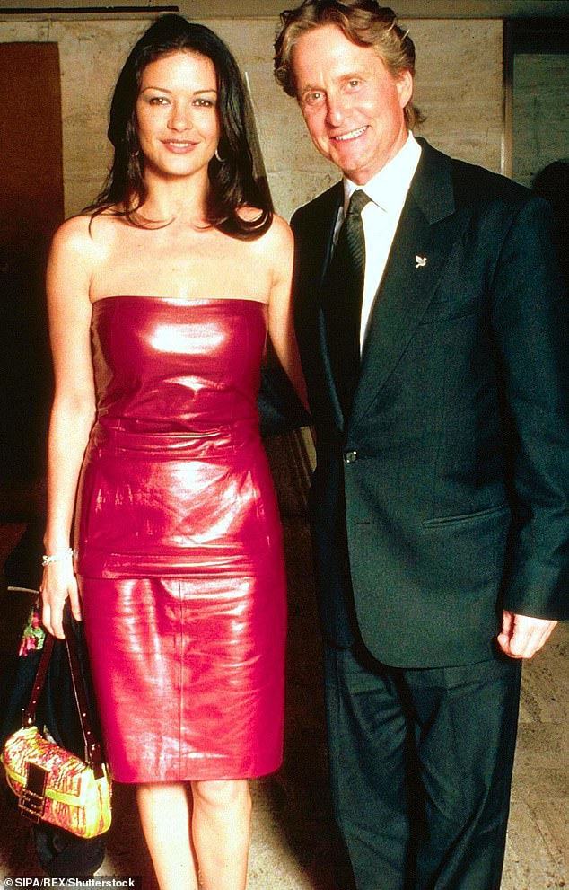 Love at first sight!The actor revealed that he asked his assistant to find out if Catherine would be attending, if she was alone and if she wanted to grab a drink (pictured in 1999)