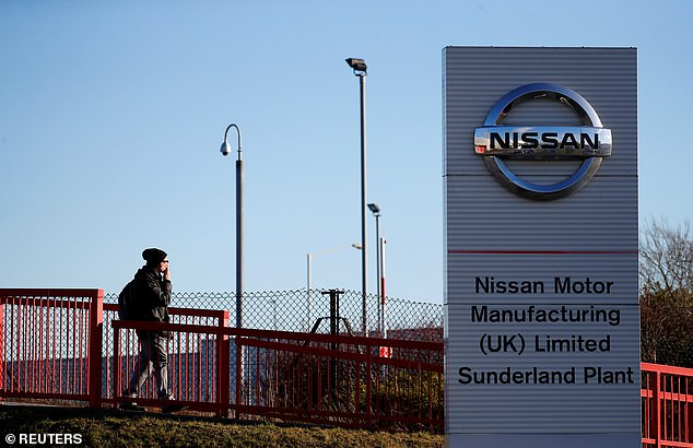 Nissan, which employs 7,000 people at Britain's biggest auto plant in Sunderland, called in June for an 'orderly balanced Brexit'