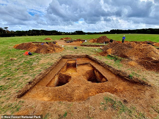 'Archaeological evidence from the Mesolithic period is rare, but now and again we do find flint tools and evidence for these temporary settlement sites,' said Bournemouth University Archaeological Research Consultancy's Jon Milward. 'We know of a few Mesolithic sites close to Beaulieu River and it appears there was another at this site,' he told the Advertiser & Times