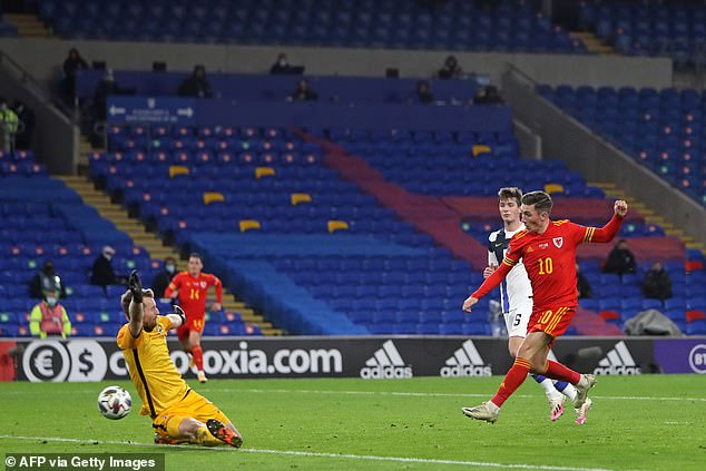 Wilson supplied a cool finish to a Gareth Bale assist in the UEFA Nations League encounter