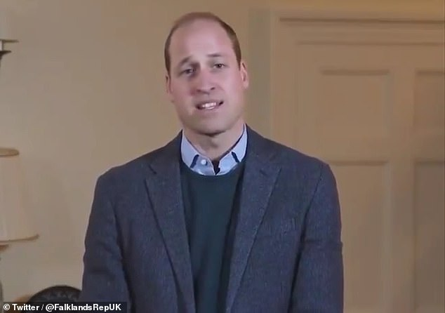 William's (pictured this week) intervention this week in the BBC/Bashir scandal shows his increasingly assured profile as a future king — the action-man Prince, rather than the Prince who talks to his plants.