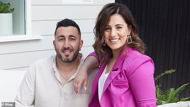 Will they win? Sarah, 27, and George, 33, hail from Western Sydney and have delivered a perfectly presented 1940s-styled home