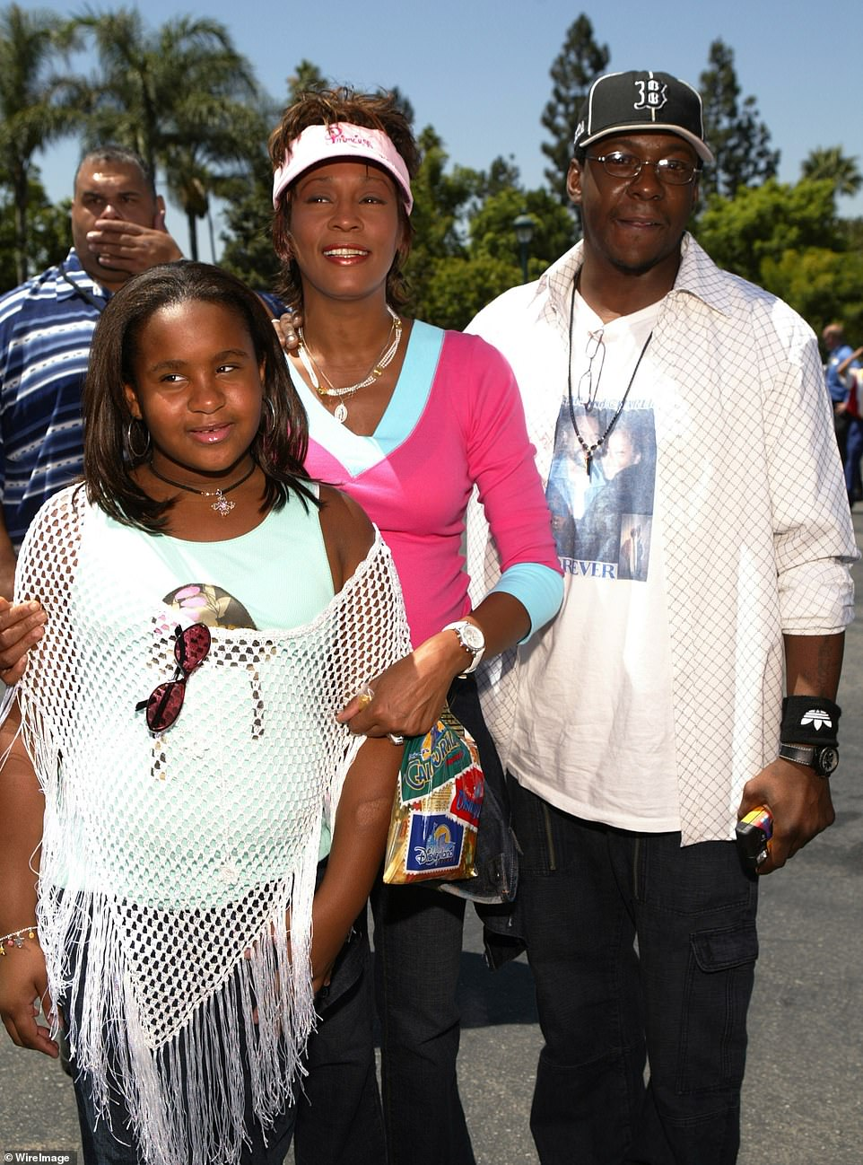 Gone too soon: In late 2016, Bobbi Kristina's ex-boyfriend Nick Gordon was found liable in a wrongful death lawsuit brought by the conservator of Bobbi Kristina's estate, Bedelia Hargrove (seen in 2004)