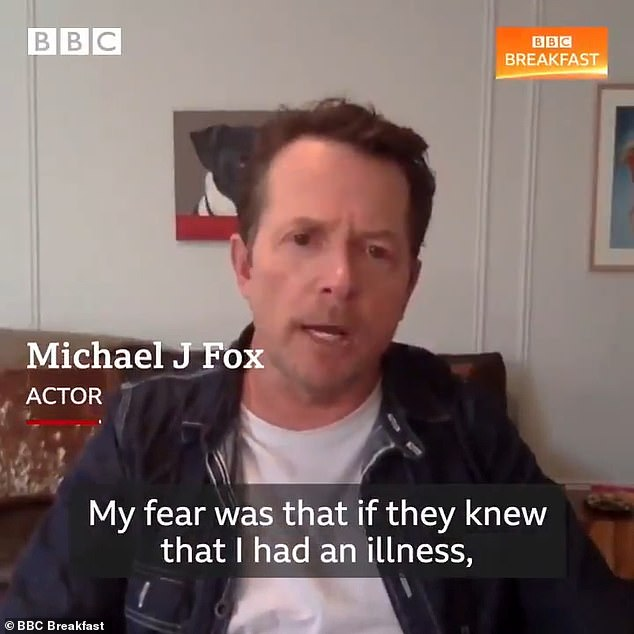 'It was a strange period': Michael revealed he kept his Parkinson's a secret as he feared he wouldn't be able to make his fans laugh again on Thursday's BBC Breakfast
