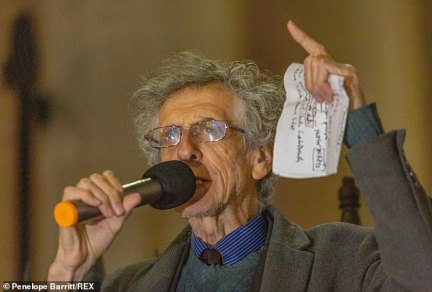 Piers Corbyn says vaccine 'is experimental' and makers 'have no liability on sickness or death