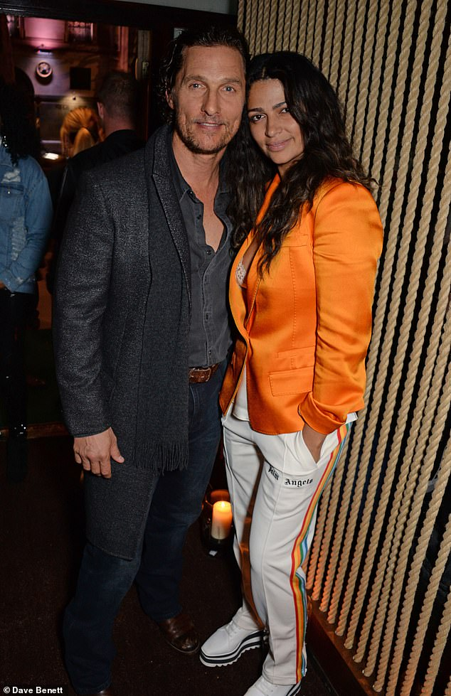 Family life: The hunk shares with Liva, 12, Vida, 10, and Livingston, seven, with model Camila Alves, 38 (pictured in 2018)