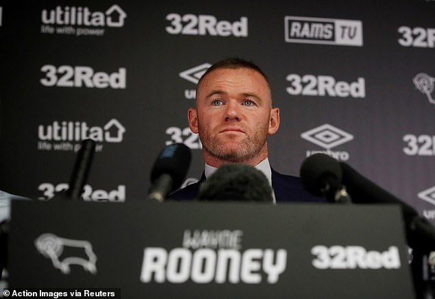 Wayne Rooney has reiterated his desire to make the move into management as he joins a coaching team taking caretaker charge of Championship side Derby County