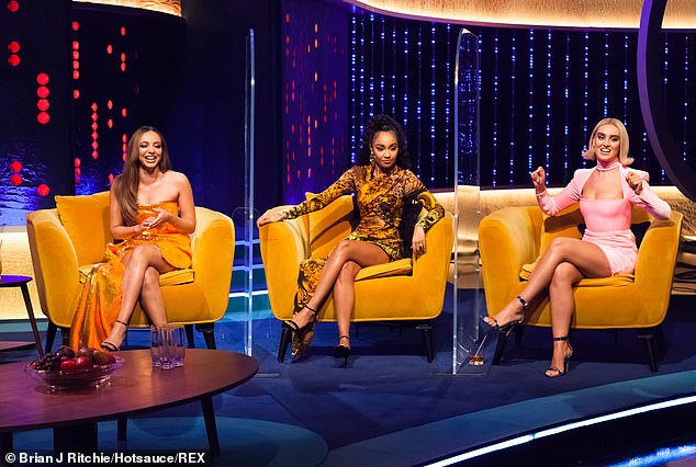 Here they are! On the show, Little Mix admitted they 'didn't expect being in a girlband to be so hard' in their first TV appearance since Jesy Nelson announced her 'extended break'