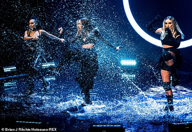 A new direction:The insider also said the ladies are trying to emulate Take That, where each member drifts out to work on their own projects but come back together at different times