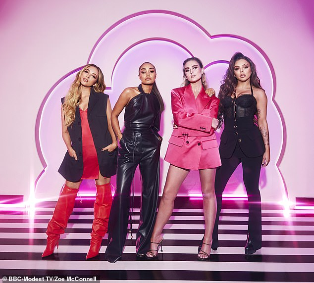 Better together:The singer dismissed claims that the band are splitting up but admitted they 'might' go and do their own projects at some point in the future