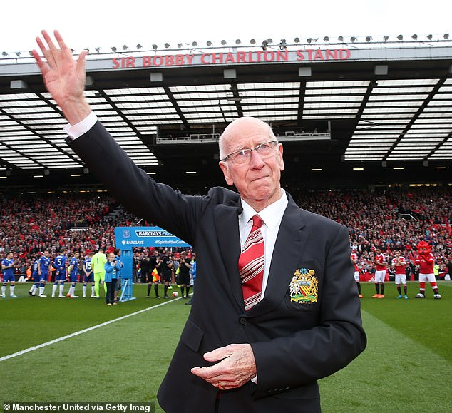 Stiles former England and Manchester United team-mate Sir Bobby Charlton is now also battling the disease