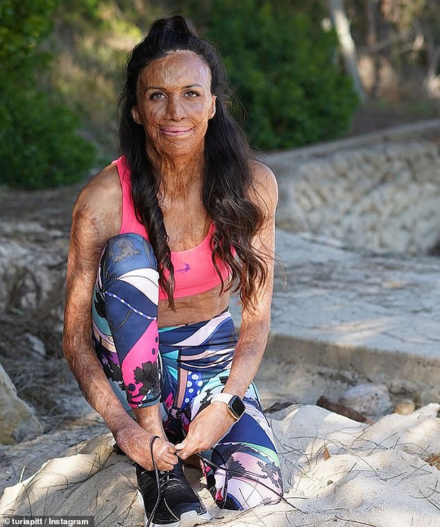 Turia Pitt (pictured) has revealed exactly what was running through her mind when she was trapped in a horrific fire that nearly claimed her lifeduring an outback ultramarathon in 2011