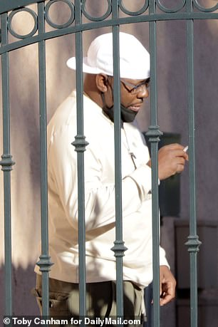Smoking a cigarette, Bobby Brown was devastated by the sudden death of his son who was pronounced dead at his apartment in Encino, Calif. On Wednesday at 2 p.m.