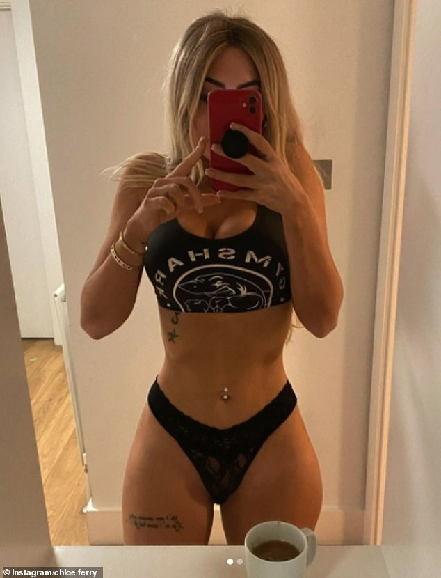 Weight loss:Chloe Ferry took to her Instagram stories on Friday to hit out at trolls telling her she's 'too skinny' when they used to slam her for being 'too fat'