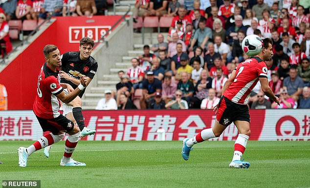 His third goal in four games came at Southampton after a thunderbolt from the edge of the box