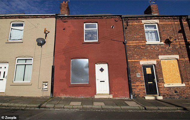 Bargain purchase? This two-bed house in Durham is the cheapest of our selection