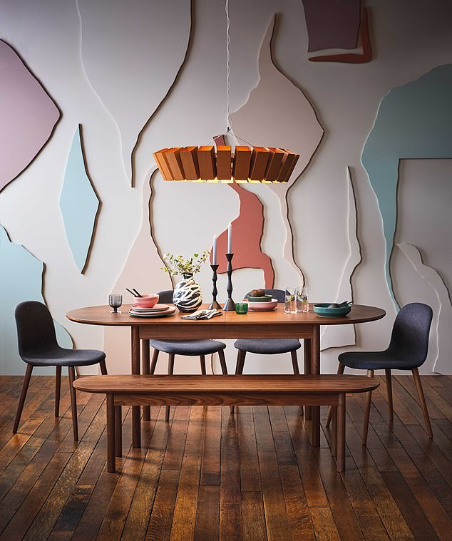 Double down: Habitat has £300 off any Celia dining table