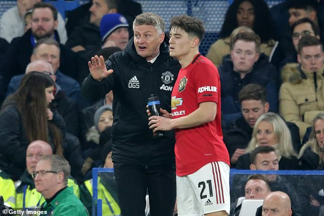 Boss Ole Gunnar Solskjaer initially kept his faith in James but has called upon him less and less