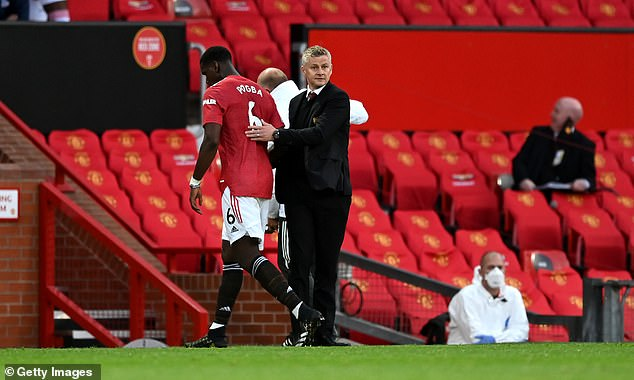 Ole Gunnar Solskjaer admitted it has been a 'difficult season' so far for the Frenchman