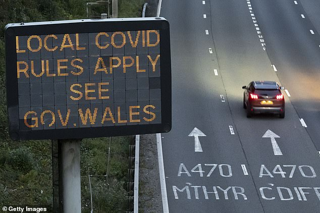 Wales came out of 'firebreak lockdown' last week as England went into its second lockdown