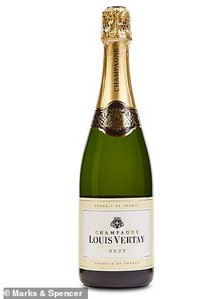 M&S Louis Vertay Brut Champagne, at £17, scored 74 per cent