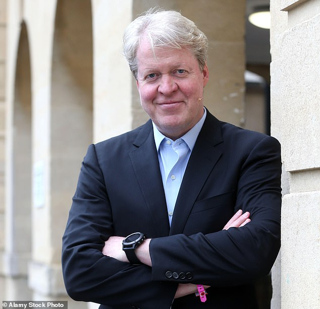 The news that Harry is being kept up to date on the inquiry's developments, his uncle Earl Spencer (pictured) has said he is 'not at all satisfied' with the scope of the BBC inquiry, claiming that Lord Dyson should be able to 'examine every aspect of this matter'. He has also written a letter to Mr Davie condemning the inquiry's scope