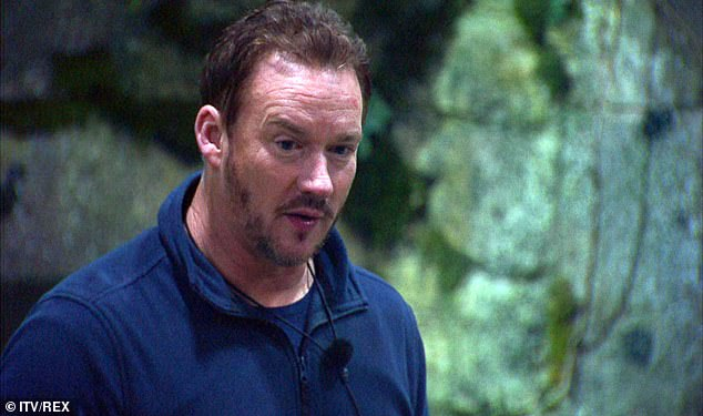 Candid:Friday night's I'm A Celebrity saw Russell Watson open up to his campmates about his two terrifying brain tumours