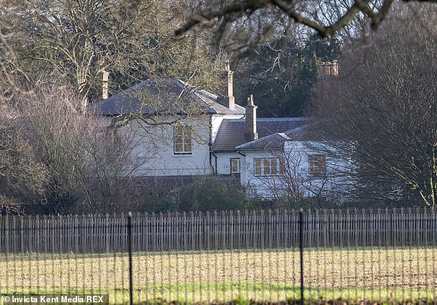 The pair, who married at St George's Chapel in October 2018, are expecting their first child and are said to be 'delighted' with Frogmore Cottage (pictured)